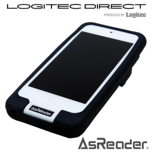 AsReader RFID iPod touch用 Black【ASX-T530R-B】 iPod touch第5世代に装着して利用できるケース型RFIDリーダー/ライター